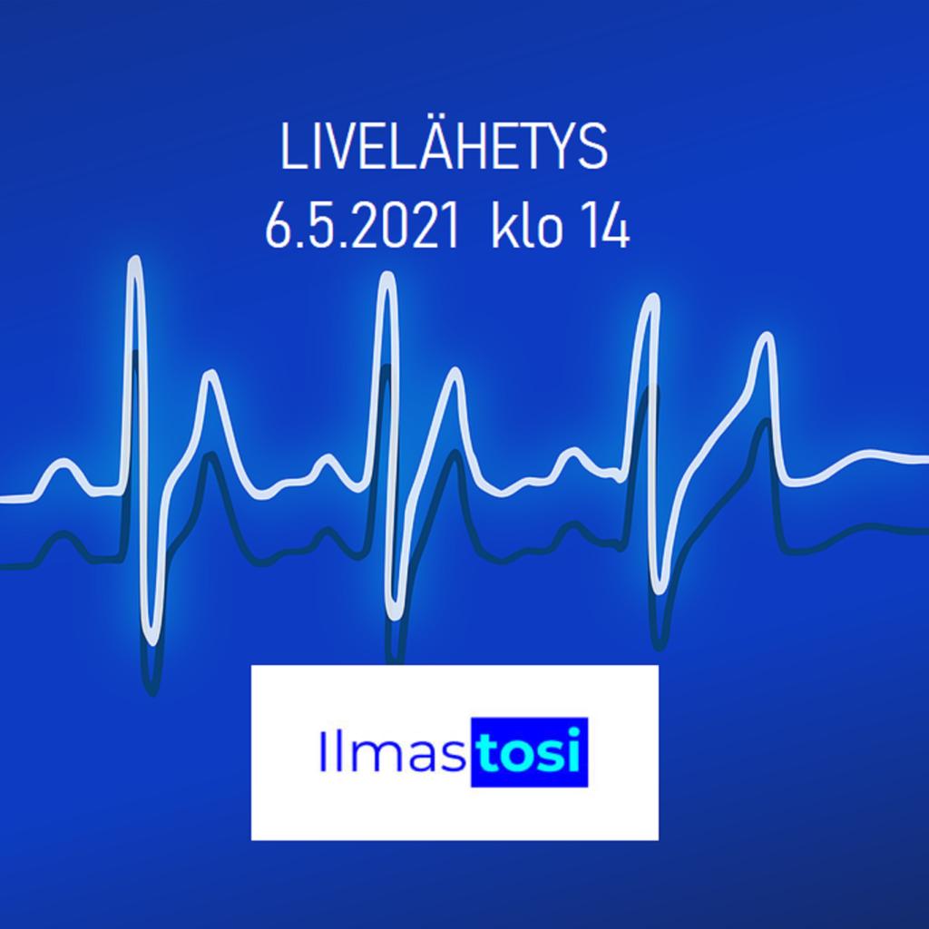 Ilmastosi 2021 LIVE lähetys 6.5.2021 klo 14